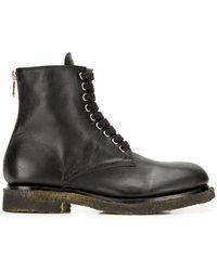 Rocco P - Worn Out Effect Boots - Lyst