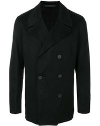 Theory - Double-faced Cashmere Peacoat - Lyst