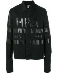 Hood By Air - Logo Printed Jacket - Lyst