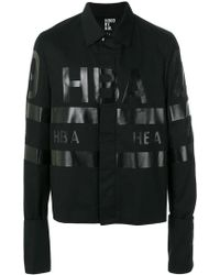 Hood By Air - Giacca con logo stampato - Lyst