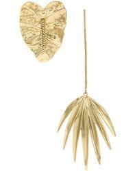 Osklen - Leaves Earrings - Lyst
