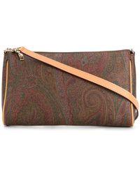 Etro - Paisley Print Shoulder Bag - Lyst