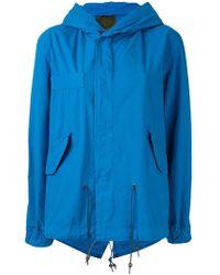 Mr & Mrs Italy - Hooded Short Jacket - Lyst