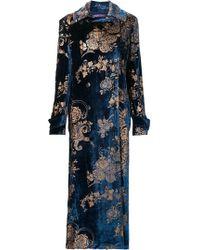 Ralph Lauren - Floral Print Coat - Lyst