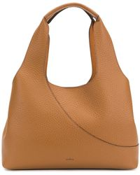 Hogan - Elongated Grained Tote Bag - Lyst