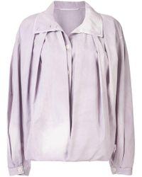 Lemaire - Oversized Shirt-jacket - Lyst