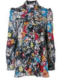 Ultrachic - Floral Print Blouse - Lyst