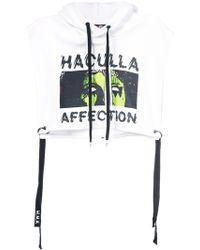 Haculla - Affection Crop Top Hoodie - Lyst