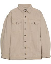 Y. Project - Denim Jacket With Double Sleeves - Lyst