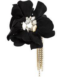 Lanvin - Flower Applique Bracelet - Lyst