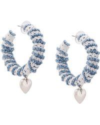 DANNIJO - Lou Hoop Earrings - Lyst