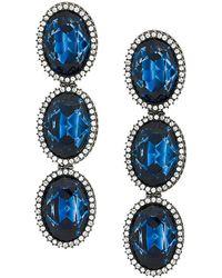 Stella McCartney - Embellished Stone Earrings - Lyst