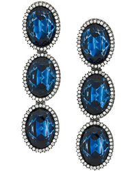 Stella McCartney - Embellished Stone Earrings - Lyst