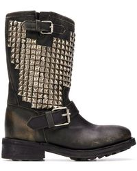 Ash - Studed Boots - Lyst