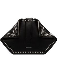 Alexander McQueen - De Manta Leather Clutch - Lyst