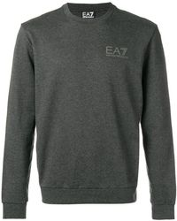 EA7 - Round Neck Jumper - Lyst