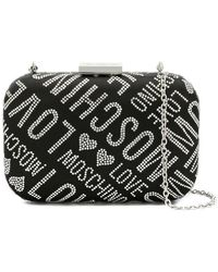Love Moschino - Microstud Monogram Crossbody - Lyst