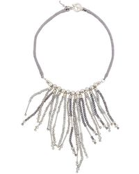 Fabiana Filippi - Multi String Necklace - Lyst