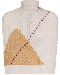 Raf Simons - Jersey estilo bufanda - Lyst
