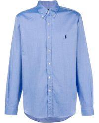 Ralph Lauren - Chemise à logo brodé - Lyst