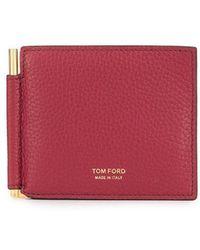 Tom Ford - Bar-embellished Cardholder - Lyst