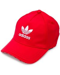 adidas - Logo Embroidered Cap - Lyst