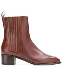 Aeyde - Classic Booties - Lyst