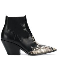 Casadei - Pointed Ankle Boots - Lyst