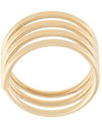 Sophie Bille Brahe - 14kt Yellow Gold And Diamond Pirouette Elsa Ring - Lyst