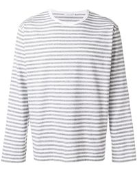 Nanamica - Striped Sweatshirt - Lyst