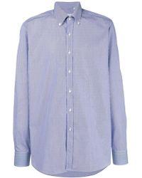 Xacus - Camicia a righe sottili - Lyst