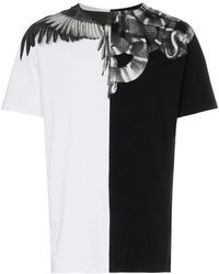 Marcelo Burlon - T-shirt Wings and snakes - Lyst