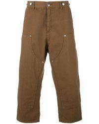 Paura - Carlini Cropped Trousers - Lyst