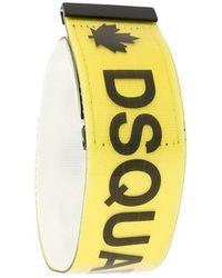 DSquared² - Logo Strap Bracelet - Lyst