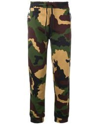 Moschino - Camouflage Track Pants - Lyst