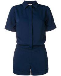P.A.R.O.S.H. - Short-sleeved Playsuit - Lyst