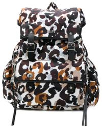 Sonia Rykiel - Leopard Print Backpack - Lyst