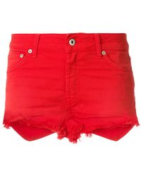 Dondup - Denim Fitted Shorts - Lyst