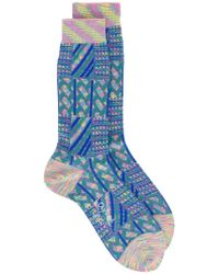 Ayamé - Marble Grater Patterned Socks - Lyst