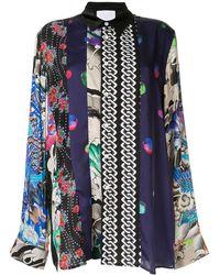 Koche - Print Mix Shirt - Lyst