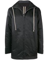 Rick Owens Drkshdw - Hooded Zipped Jacket - Lyst