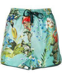 F.R.S For Restless Sleepers - Floral Print Shorts - Lyst