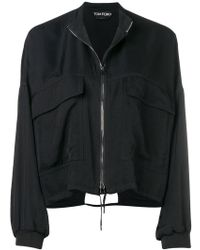 Tom Ford - Zipped Jacket - Lyst