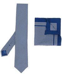 Brioni - Set cravatta e fazzoletto - Lyst