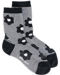 Henrik Vibskov - Flora Striped Socks - Lyst