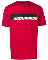 DSquared² T-shirt Dsquard2 - Rouge