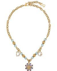 Dolce & Gabbana - Charm Necklace - Lyst