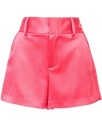 Alice + Olivia - High Rise Shorts - Lyst