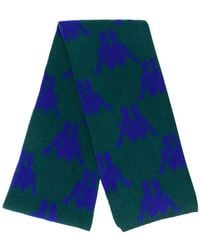 Kappa - All-over Logo Knitted Scarf - Lyst