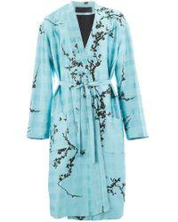 Haider Ackermann - Manteau d'inspiration kimono - Lyst